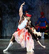 Гастроли Имперского Русского Балета, сцена из балета Щелкунчик